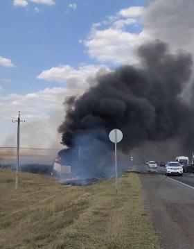 В Оренбуржье в районе засела Майорское приключилось жуткое ДТП